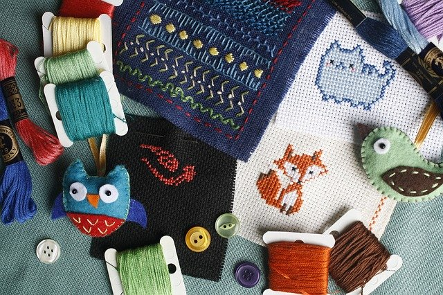 embroidery craft products